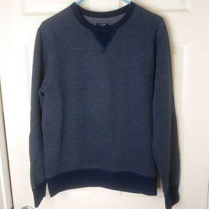 J Crew Authentic Fleece Sweatshirt Elbow Patches S